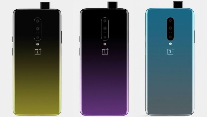 OnePlus 7, colours, leak