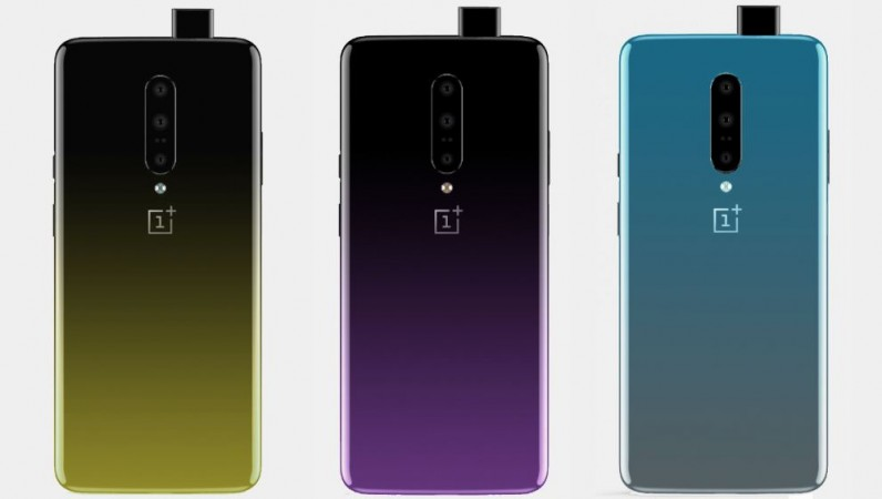 OnePlus 7, colours, leak