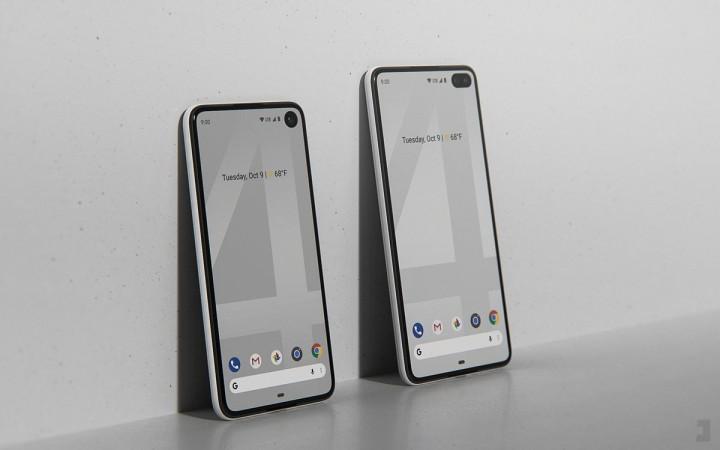 Google Pixel 4 and Pixel 4 XL renders