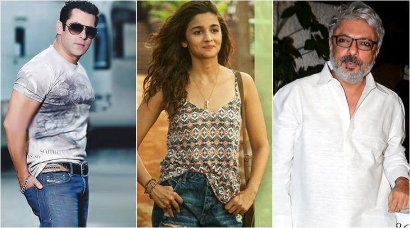 Salman Khan, Alia Bhatt and Sanjay Leela Bhansali