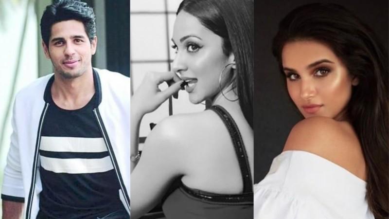Sidharth Malhotra, Kiara Advani and Tara Sutaria