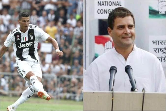 Rahul Gandhi Cristiano Ronaldo