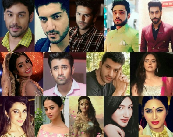 Tv celebs on Holi