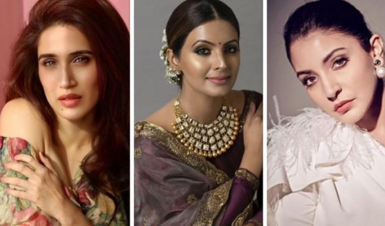 Sagarika Ghatge, Geeta Basra, Anushka Sharma