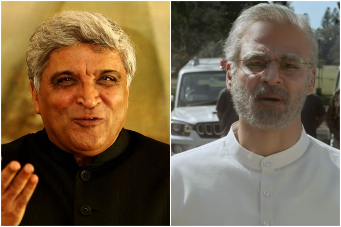 Javed Akhtar shocked to see his name on poster of PM Narendra Modi biopic