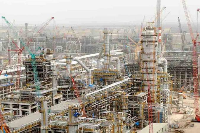 Relaince Jamnagar refinery
