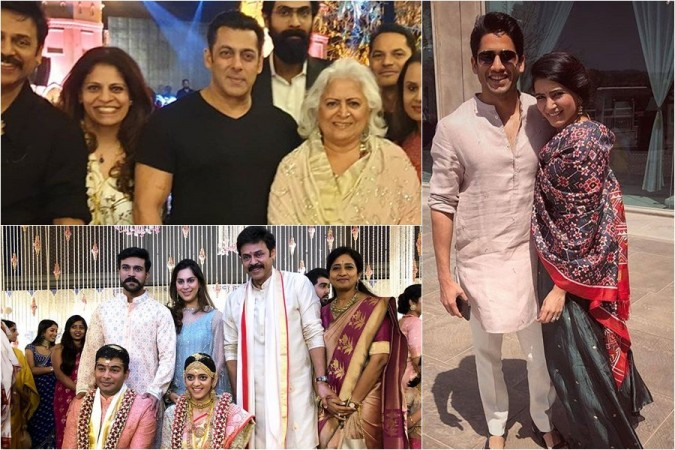 Image result for latest images of Upasana leaked Aashrita Daggubati Wedding pic