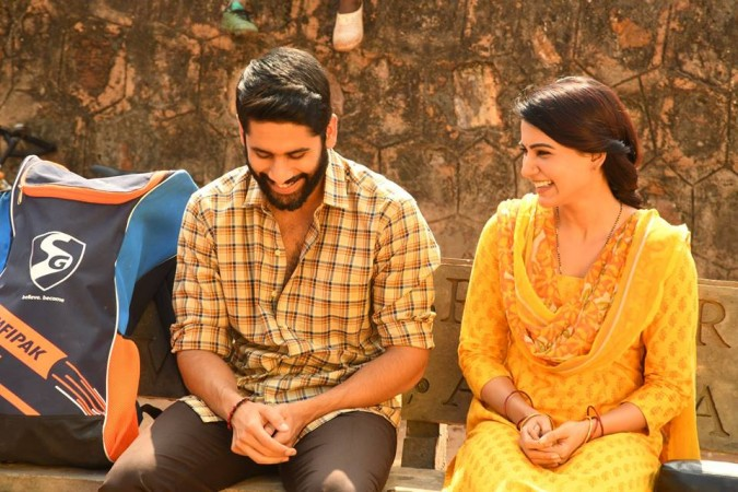 Naga Chaitanya and Samantha Akkineni in Majili