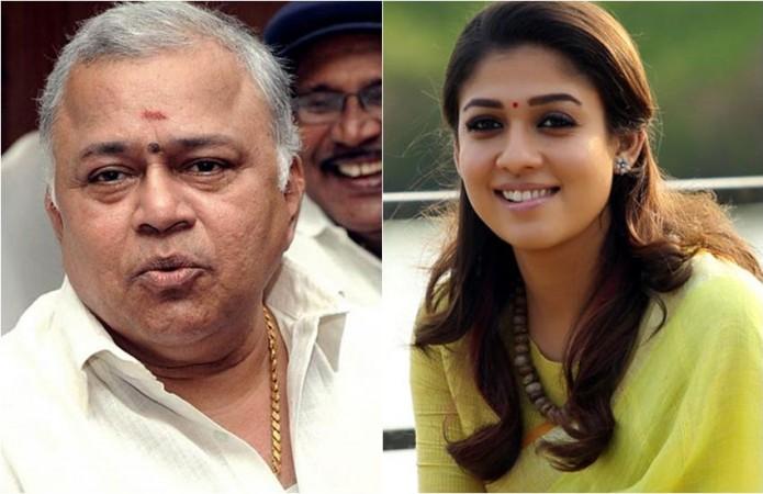 Radha Ravi and Nayanthara