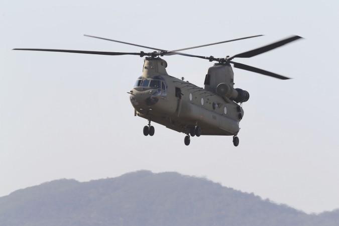 A Chinook CH-47