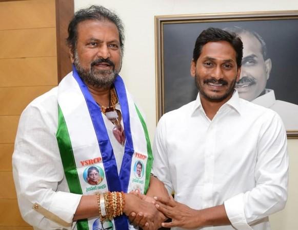 Mohan Babu and YS Jagan Mohan Reddy