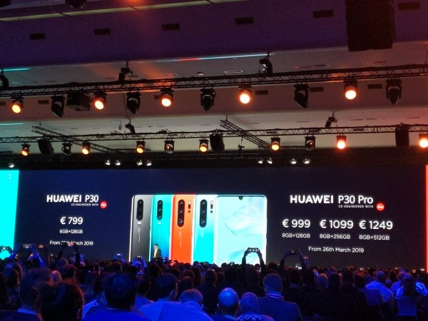Huawei P30-series launched