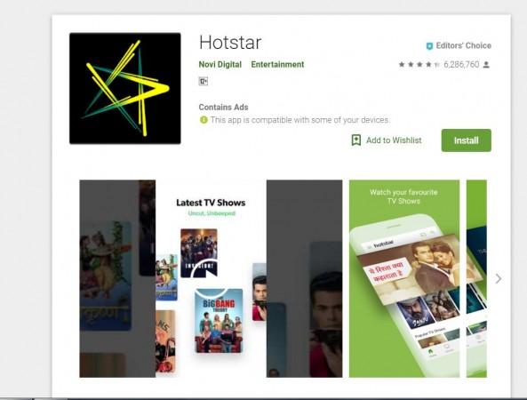 Hotstar, mobile,app
