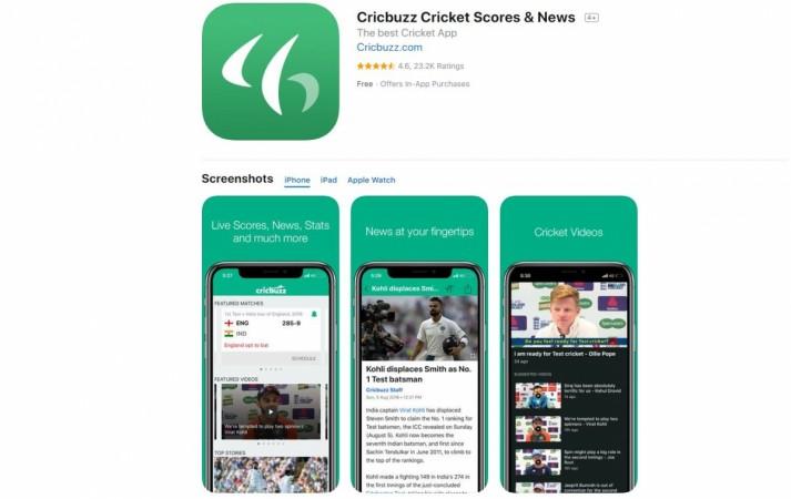 Cricbuzz, mobile, app