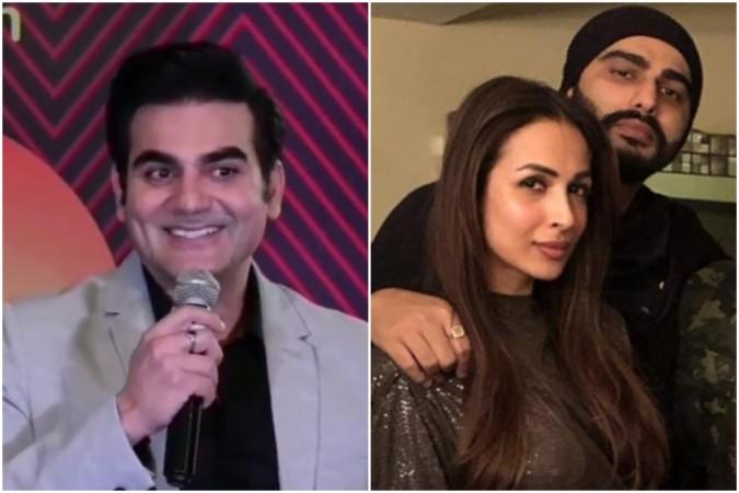 Arbaaz Khan's reaction on asked about Malaika Arora-Arjun Kapoor's marriage.