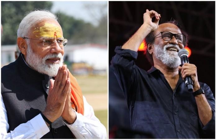 Narendra Modi and Rajinikanth