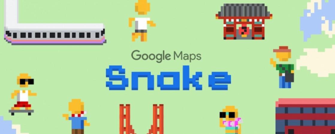 Google, Snake, Maps