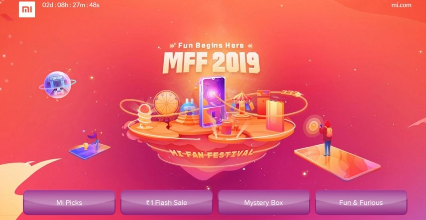 Xiaomi, Mi Fan Festival, 2019, Mystery box, fun and furious,