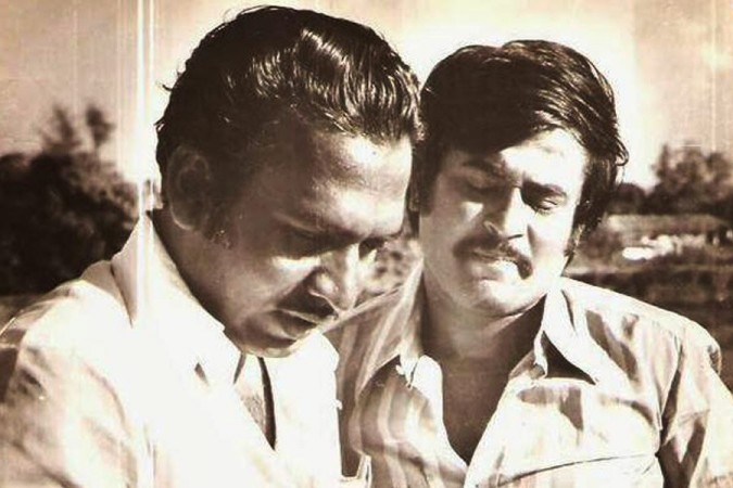 J Mahendran and Rajinikanth's rare and unseen picture