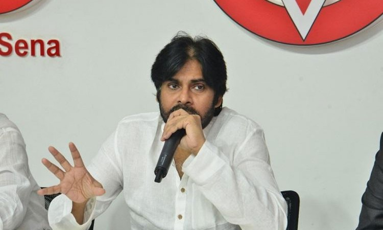 Jana Sena Party chief Pawan Kalyan