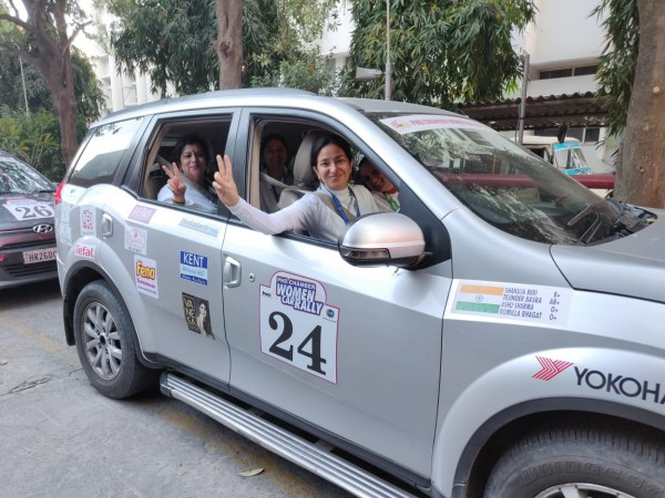 women car rally