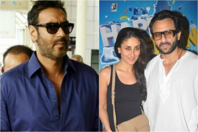Ajay Devgn, Kareena Kapoor, Saif Ali Khan
