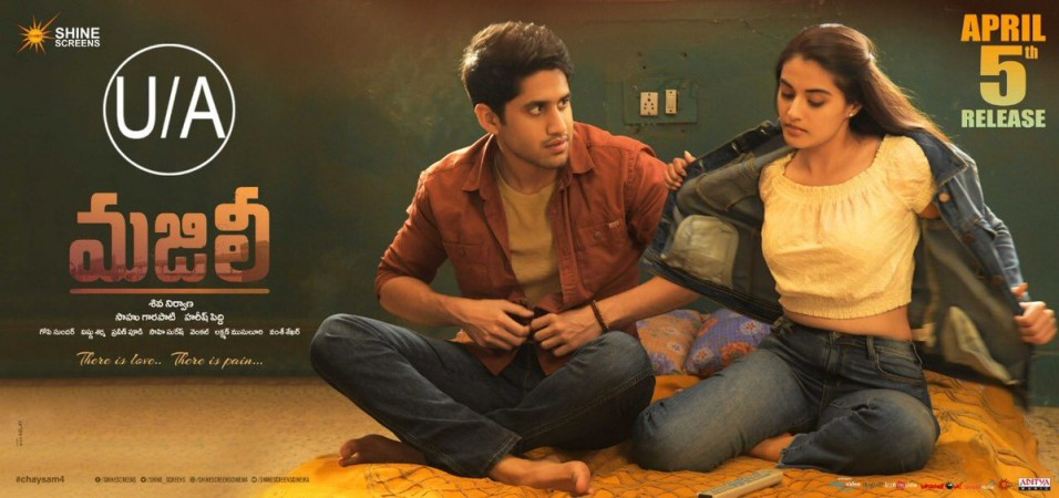 Naga Chaitanya and Divyansha Kaushik in Majili
