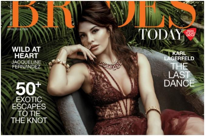 Jacqueline Fernandez on magazine cover
