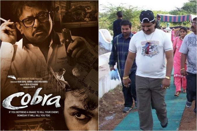 Ram Gopal Varma's Cobra poster and gangster Nayeem aka Mohammed Nayeemuddin