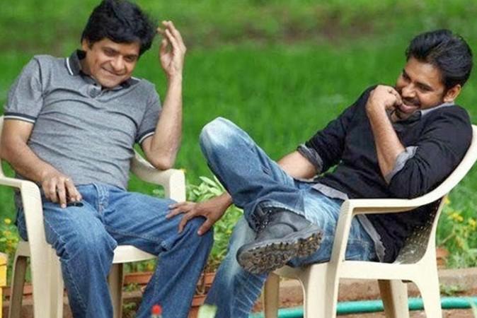 Ali with Pawan Kalyan