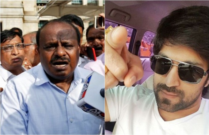 HD Kumaraswamy vs Yash