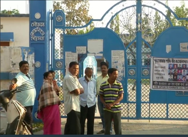 west bengal polling booth