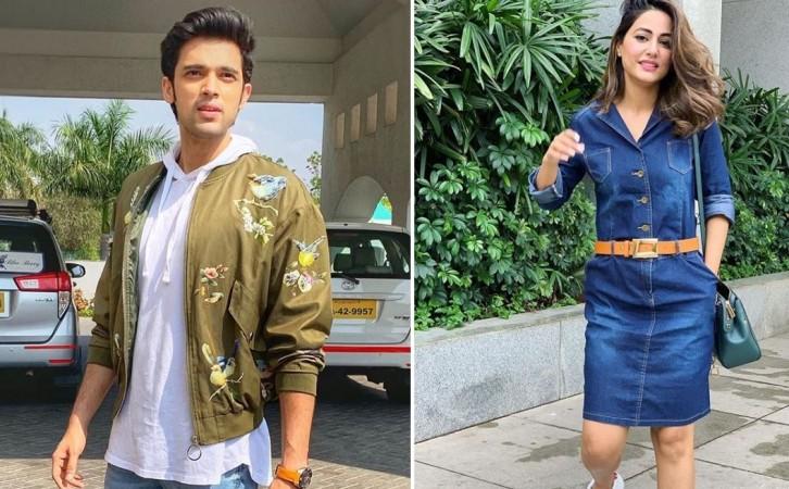 Kasautii Zindagii Kay 2's Parth Samthaan and Hina Khan