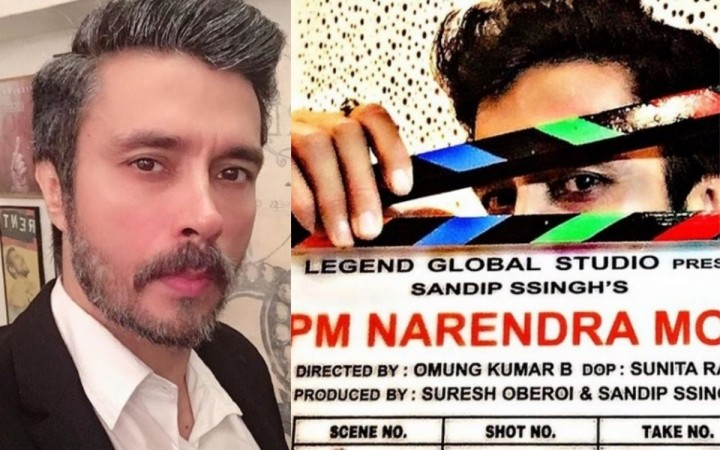 Darshan Kumaar's look in PM Narendra Modi film