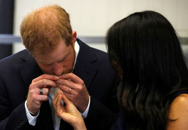 Prince Harry shows his displeasure at Trooping the Colour