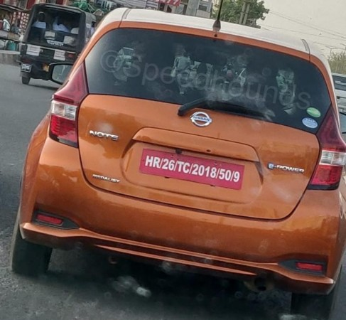 Nissan Note ePower spotted testing in India