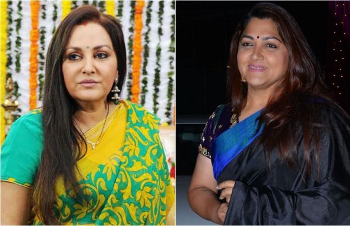 Jaya Prada and Khushbu Sundar