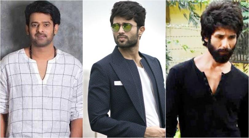 Prabhas, Vijay Devarakonda and Shahid Kapoor