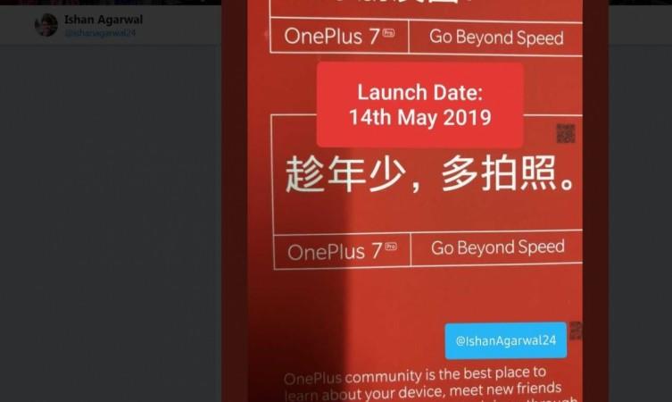 OnePlus 7, launch, date, OnePlus 7 Pro
