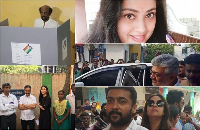Lok Sabha Election 2019: Tamil Celebrities Vote