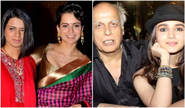 Alia Bhatt's mother Soni Razdan reacts to allegations made by Kangana Ranaut's sister
