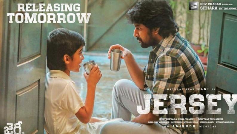 Nani movie Jersey poster