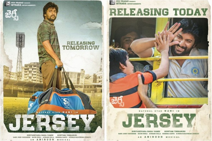 Actor Nani in Jersey