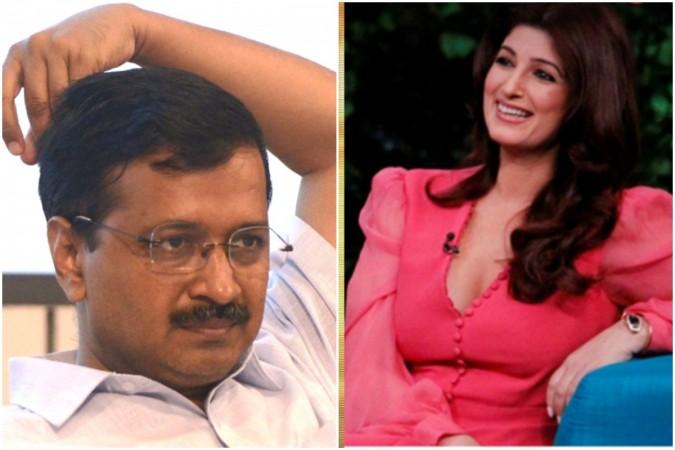 Twinkle Khanna's tweet involving Arvind Kejriwal