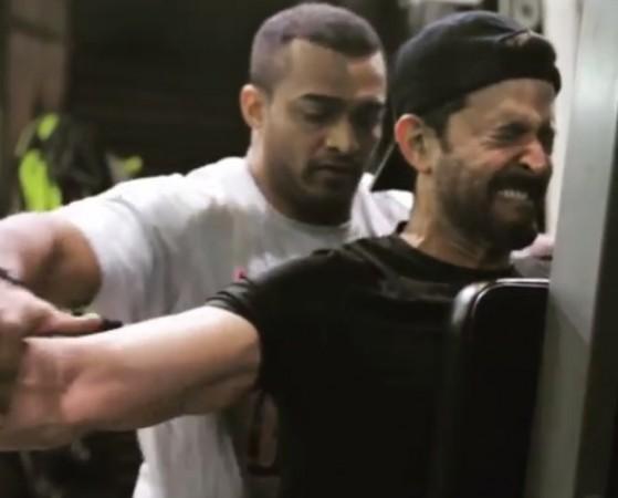Hrithik Roshan workout