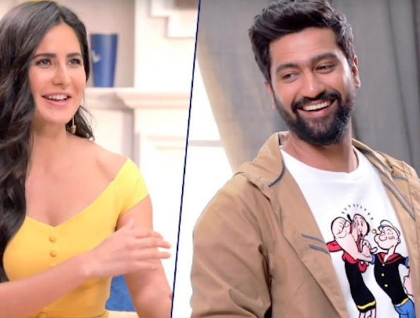 Katrina Kaif and Vicky Kaushal on Tape Cast