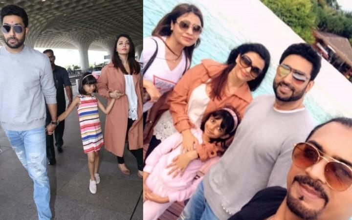 Abhishek, Aaradhya and Aishwarya Rai Bachchan enjoy summer vacation in Maldives 2