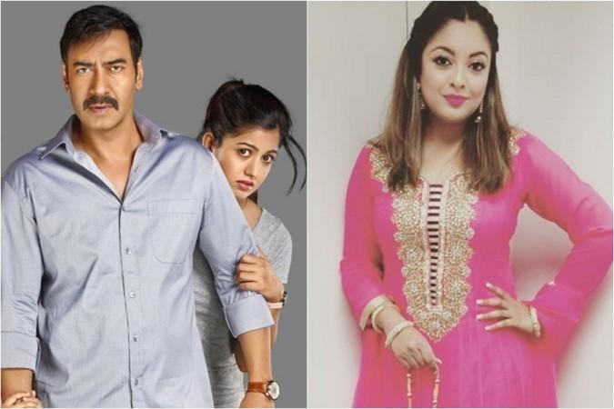 Ajay Devgn, Ishita Dutta, Tanushree Dutta