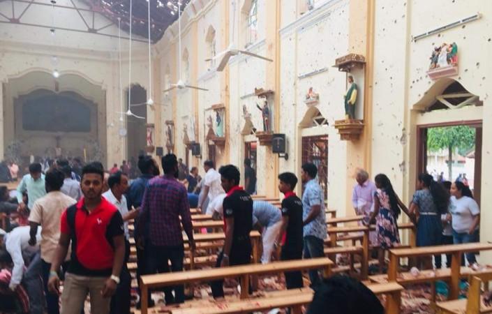 Sri Lanka church explosion