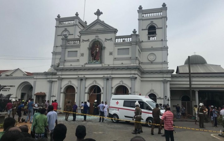 Explosion at St. Anthony's Church at Kochchikade